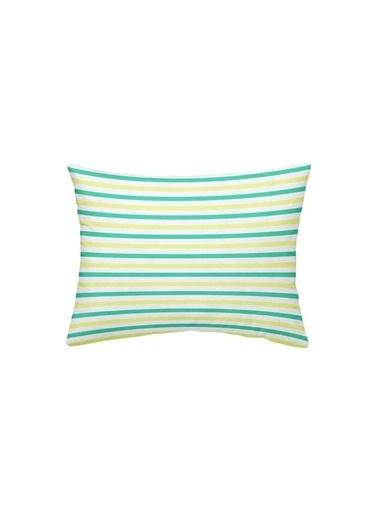 Maki %100 Pamuklu 2 Adet 50x70 Yastık Kılıfı Ciyesa Renkli